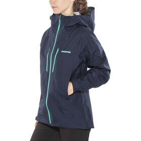 Patagonia Triolet Jacket Women Navy Blue w/Strait Blue